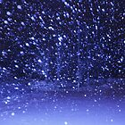 Heavy snowfall in the night by Tarolino