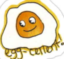 Egg-Cellent! Sticker