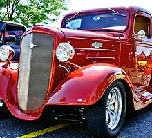 Custom Chevy Hot Rod Truck by Amy McDaniel