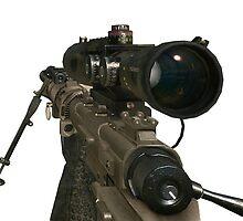 Intervention Sniper MW2 by MountyBounty
