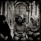 Women at Blue Mosque by Morten Kristoffersen
