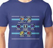Rising Thunder - Megaman 2 Boss Select Unisex T-Shirt