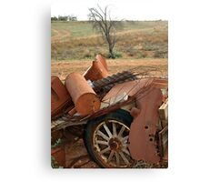 Rusty Collection Canvas Print