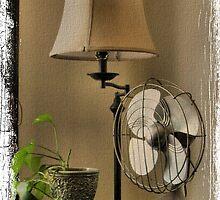 Granny's Fancy Electric Fan by © Bob Hall