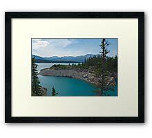 Abraham Lake, Alberta Framed Print