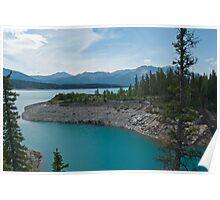 Abraham Lake, Alberta Poster