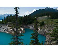 Abraham Lake Vista, Alberta Photographic Print