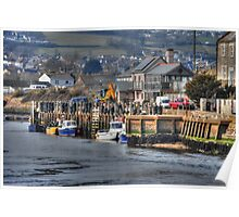 Seaton Harbour  Poster