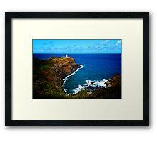 Kilauea Lighthouse, Kauai Framed Print