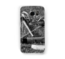 Polo mallets on the field Samsung Galaxy Case/Skin