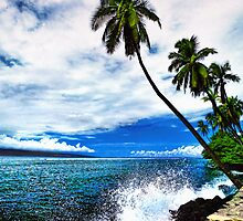 Lahaina Ocean Spray by Benjamin Padgett