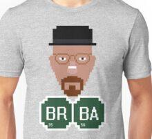 Pixelated Heisenberg Unisex T-Shirt
