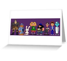 Day of tentacle - pixel art Greeting Card