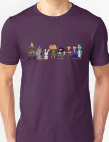 Day of tentacle - pixel art Unisex T-Shirt