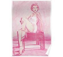 Monochromatic Starlet - Marilyn Monroe Poster