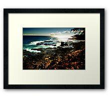 South Shore Seascape Framed Print