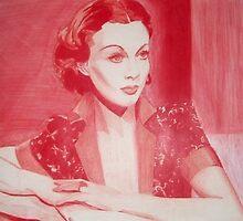 Monochromatic Starlet - Vivien Leigh by vswart