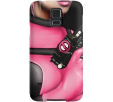 Deadpool Babe Pink Samsung Galaxy Case/Skin