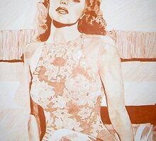 Monochromatic Starlet - Rita Hayworth by vswart