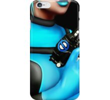 Deadpool Babe Blue iPhone Case/Skin