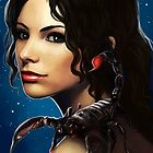 The Zodiac: Scorpio by Lisa Furze
