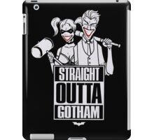 Straight outta Gotham iPad Case/Skin