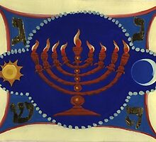 Menorah by Ivar Kronick