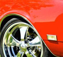 Chevrolet Camero SS Sticker