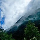 Cloudscape, Milford Sound, New Zealand. by johnrf