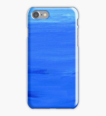 Blue Atmosphere. iPhone Case/Skin