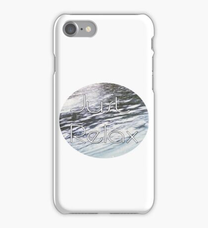 Hipster Just relax iPhone Case/Skin
