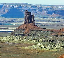 Candlestick Tower, Canyonlands National Park, UT by Rebel Kreklow