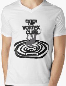 Enter the Vortex Club Mens V-Neck T-Shirt