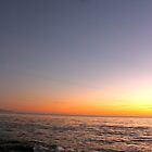 Santa Cruz - Half Moon Sunset by Sam Maule