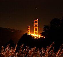 Golden Gate Night by Sam Maule