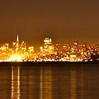 San Francisco - Skyline by Sam Maule