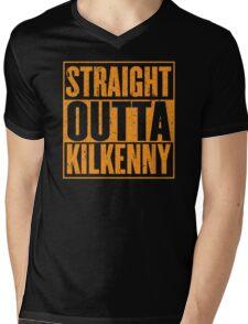 Straight Outta Kilkenny Mens V-Neck T-Shirt