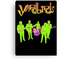 The Yardbirds T-Shirt Psychedelic Rock Canvas Print