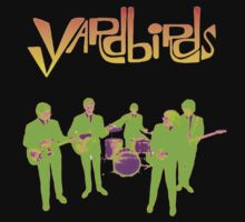 The Yardbirds T-Shirt Psychedelic Rock by greenrasta