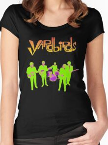The Yardbirds T-Shirt Psychedelic Rock Women's Fitted Scoop T-Shirt