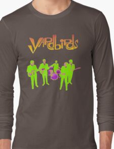 The Yardbirds T-Shirt Psychedelic Rock Long Sleeve T-Shirt