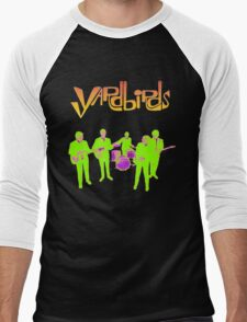 The Yardbirds T-Shirt Psychedelic Rock Men's Baseball ¾ T-Shirt