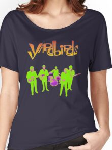 The Yardbirds T-Shirt Psychedelic Rock Women's Relaxed Fit T-Shirt