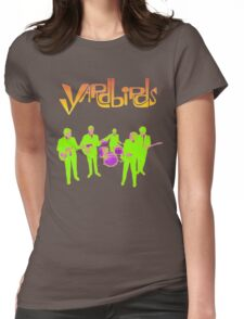 The Yardbirds T-Shirt Psychedelic Rock Womens Fitted T-Shirt