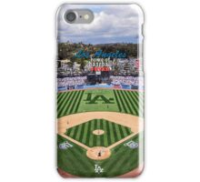 Los Angeles Home of Baseball Fever iPhone Case/Skin