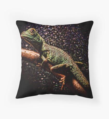 Chinese Water Dragon Throw Pillow