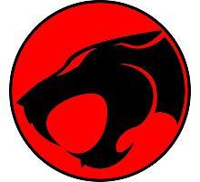 Thundercats 1985 Cat Symbol on Sword Shirt Photographic Print