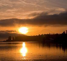 Puget Sound Sunrise by Jerome Petteys
