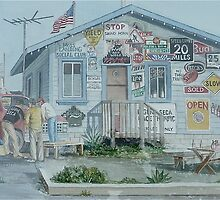 Moss Landing Social Club by Sally Sargent