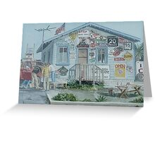 Moss Landing Social Club Greeting Card